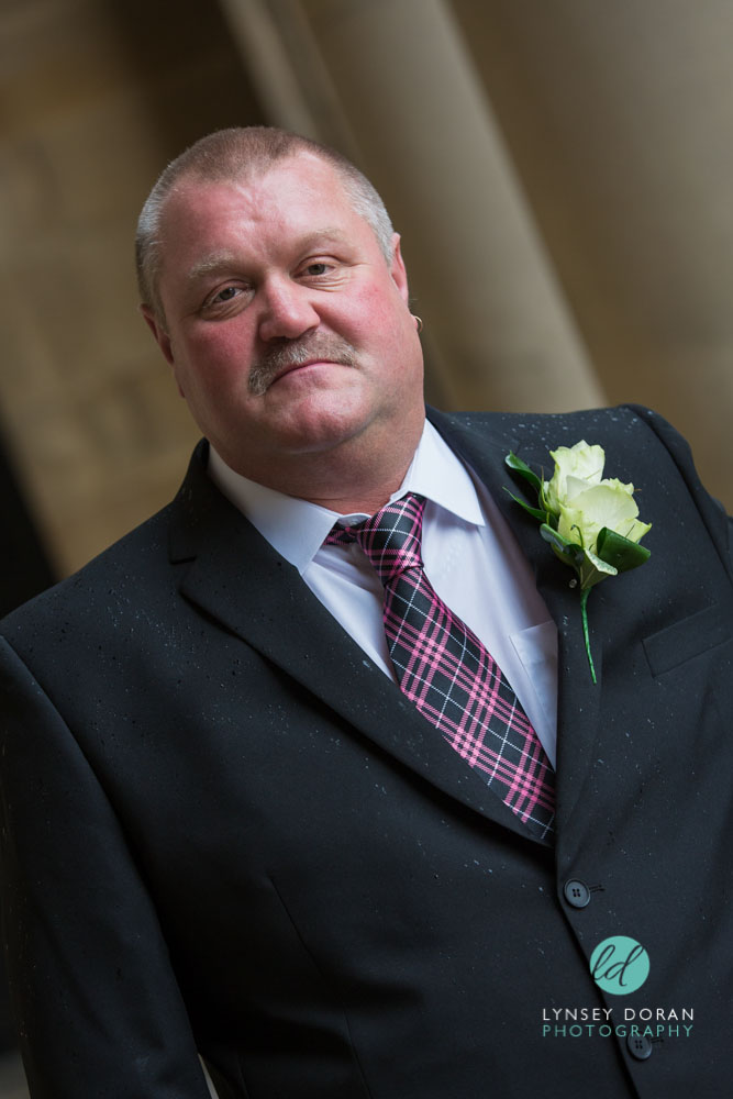 Marriage at leeds town hall