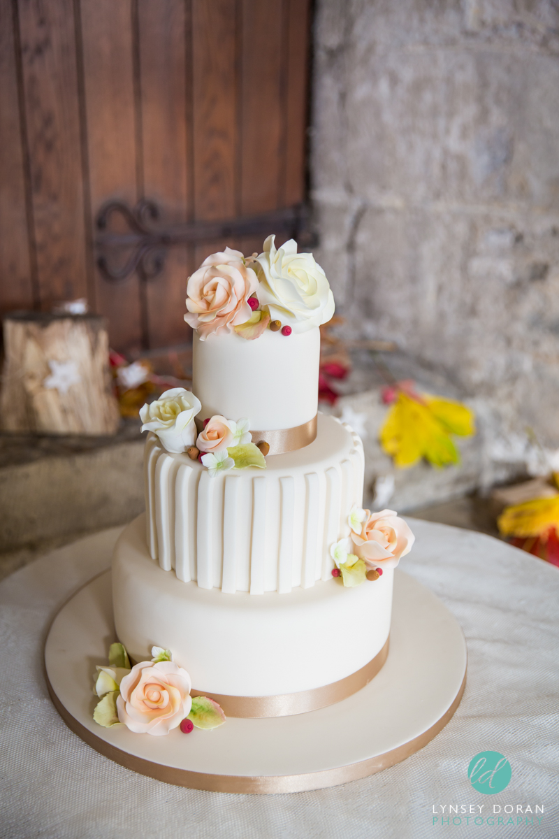 Vintage Wedding Cake Leeds