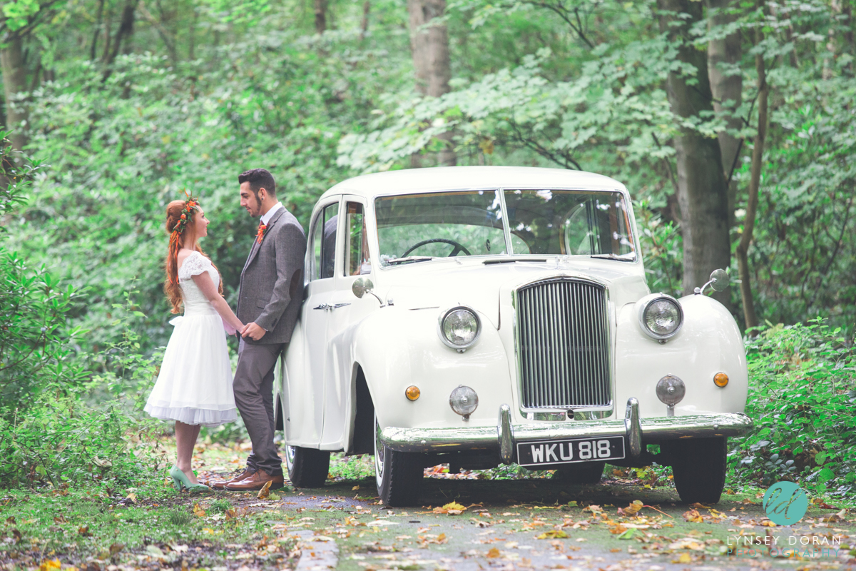 Vintage Wedding Car Hire Leeds